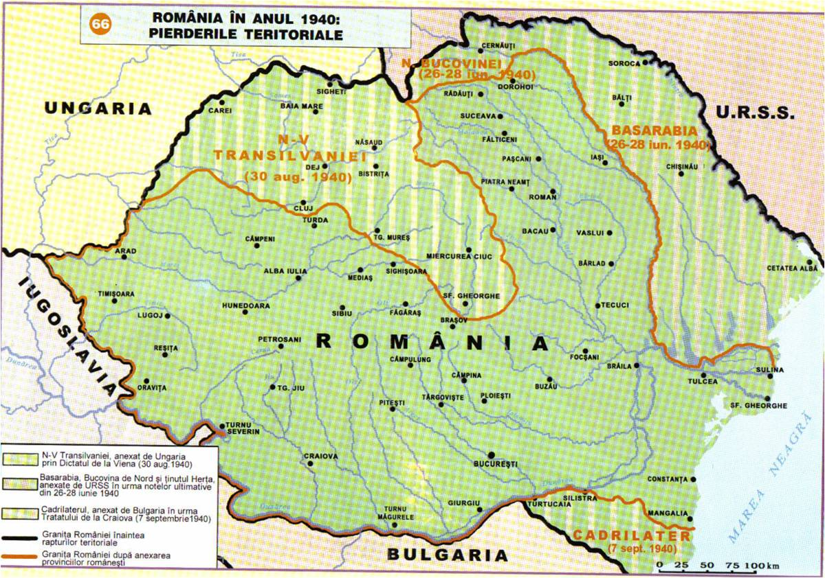 Romanian Minority In Present Day Hungary Romanian History And - Where is romania on a map
